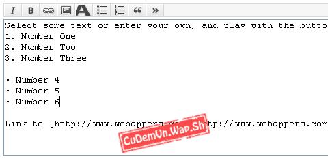 Hướng dẫn cài đặt JavaScript BBcode Toolbar - Công cụ viết BBcode nhanh cho Form