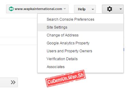 Hướng dẫn lấy mã Google Site Verification