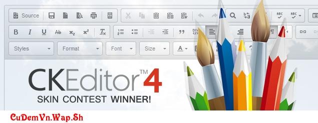 Hướng dẫn soạn thảo văn bản dễ dàng trên web với trình chỉnh sửa CKEditor