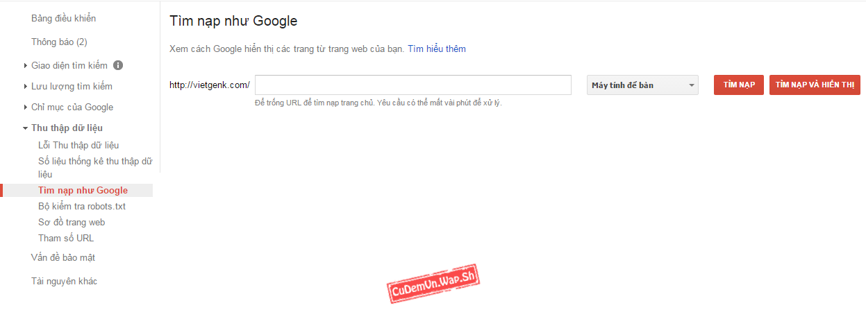 Hướng dẫn Submit Google, Google Index trong 60 giây - SEO