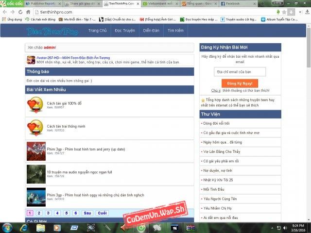 Hướng dẫn tạo giao diện Web 2 cột giống TienThinhPro.Com với gói giao diện bootstrap