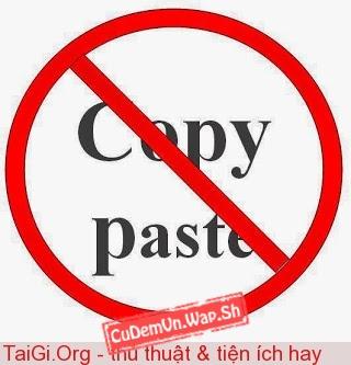Share code chặn Click chuột phải và Copy bài viết (sử dụng CSS và JavaScript)