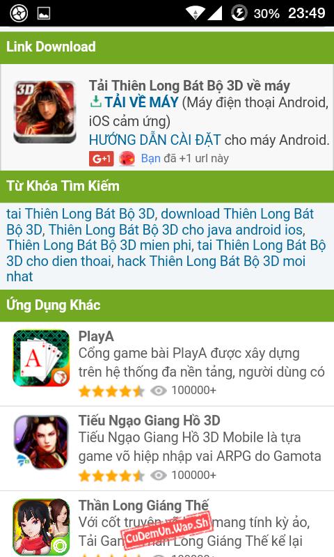 Share code Filelist ApkVL.Hexat.Com mod từ Filelist TaiVeMobi SEO khủng bởi Faker thích hợp làm Wap Game Android