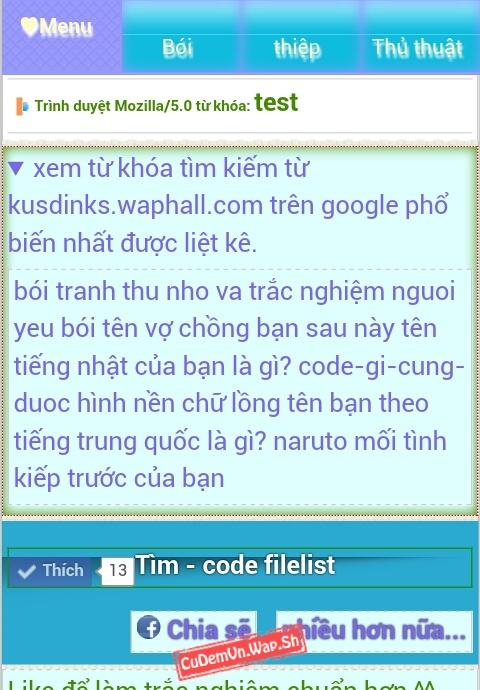 Share code Google tìm kiếm tùy chỉnh kết hợp lưu kết quả truy vấn vào Wap Xtgem