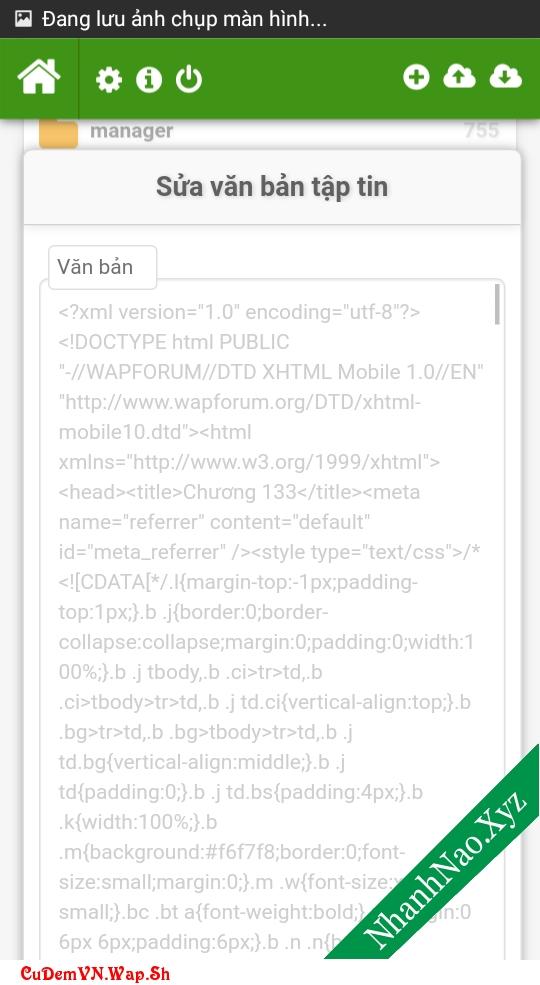 Share code IManager quản lý tập tin trên hosting v3.0 beta bởi Izero