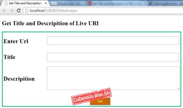 Share code PHP lấy TITLE trang qua URL