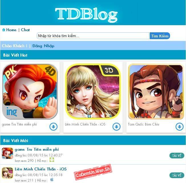 Share code TDBlog v3 Plus bản Thương mại Full chức năng SEO cực đỉnh
