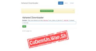 Share code tool get link 4Shared.Com chuẩn