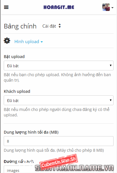 Share Code Upload ảnh Chevereto v3.6.0 Full
