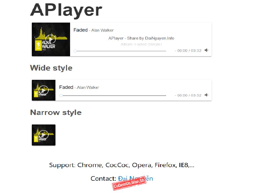 Share Source code APlayer Trình phát nhạc với Lyric cực đẹp và mới lạ